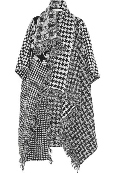 the 'houndstooth blanket' coat