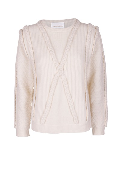 pernille sweater stine goya off white