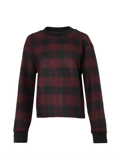 the 'plaid' sweater