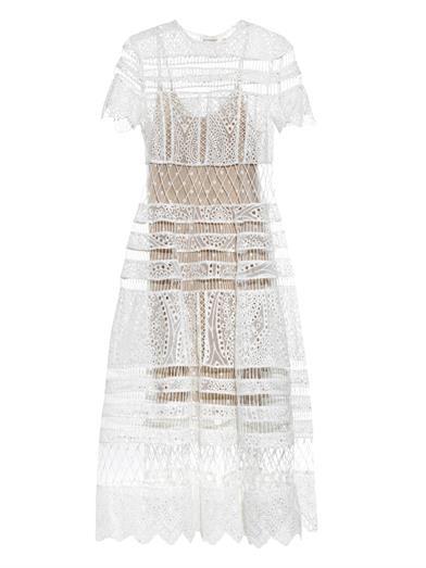 white lace maxi dress by zimmerman