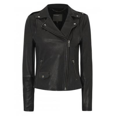 leather muubaa biker jacket