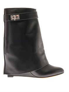 givenchy shark boot black